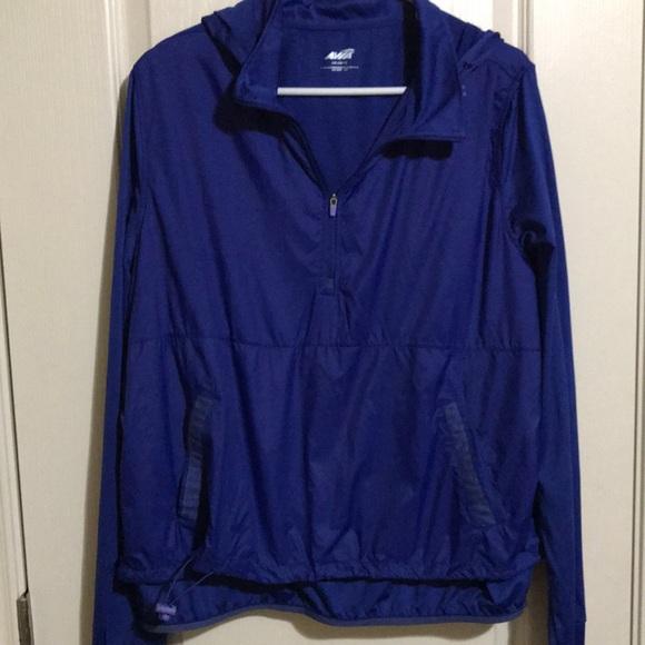 Blue Avia Sport 1/4 Pullover Hoodie